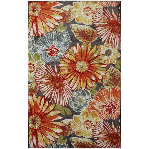 Mohawk Home New Wave Multi-Colored Rectangular: 5 Ft. x 8 Ft. Rug