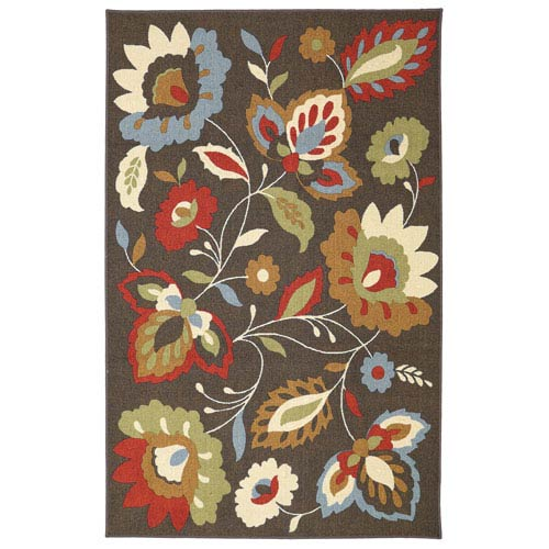 Mohawk Home Encanto Chocolate Rectangular: 5 Ft. x 8 Ft. Rug