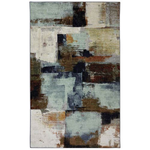 Mohawk Home Diffusion Multicolor Rectangular: 5 Ft. x 8 Ft. Rug