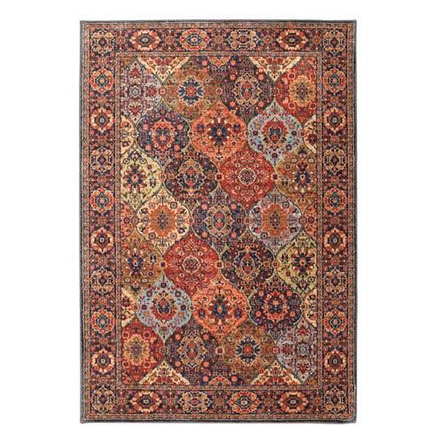 Spice Market Levant Multicolor Rectangular: 3 Ft 5 In x 5 Ft 5 In Rug