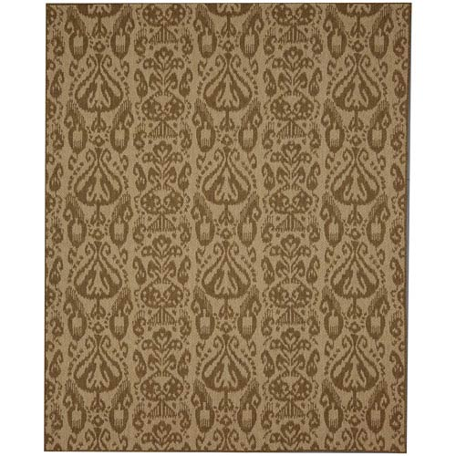 Portico Bondi Natural Rectangular: 5 Ft. 3 In. x 7 Ft. 10 In. Indoor/Outdoor Rug