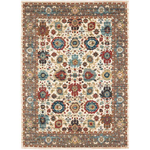 Spice Market Musi Cream Rectangular: 2 Ft. x 3 Ft. Rug