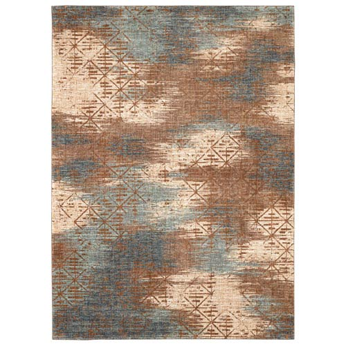 Intrigue Innovate Gold Rectangular: 3 Ft. 5 In. x 5 Ft. 5 In. Rug