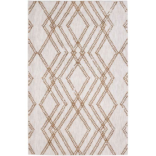Cosmopolitan French Affair Brushed Gold by Patina Vie Rectangular: 5 Ft. 3 In. x 7 Ft. 10 In. Rug