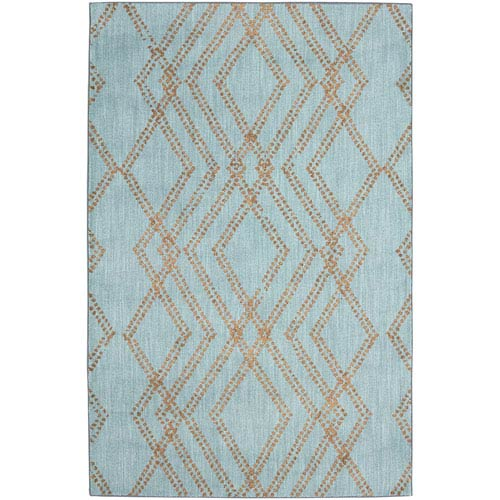 Cosmopolitan French Affair Jade by Patina Vie Rectangular: 5 Ft. 3 In. x 7 Ft. 10 In. Rug