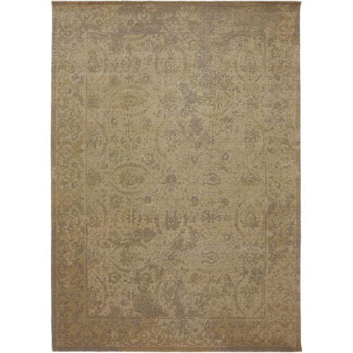 Karastan Evanescent Terni Camel Rectangular: 5 Ft 6 In x 8 Ft Rug