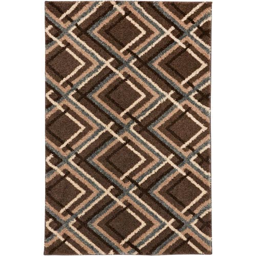 American Rug Craftsmen Augusta Browning Avenue Taupe Rectangular: 3 Ft 4 In x 5 Ft 6 In Rug