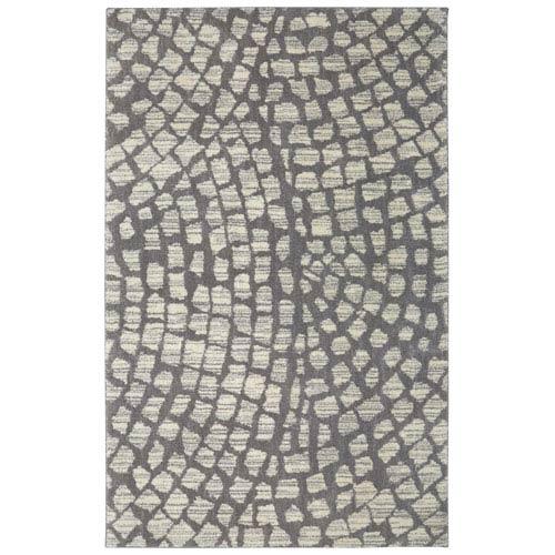 Berkshire Cohassett Gray Rectangular: 5 x 8 Ft.  Area Rug
