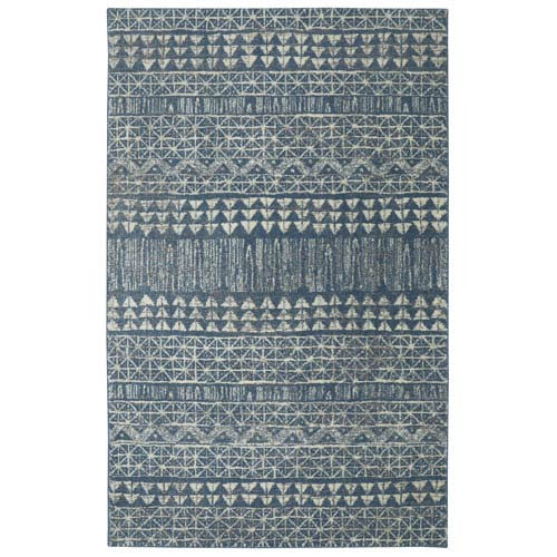 Berkshire Billerica Blue Rectangular: 5 x 8 Ft.  Area Rug