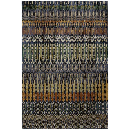 Savannah Columbia Periwinkle Rectangular: 5 Ft. 3-Inch x 7 Ft. 10-Inch Rug