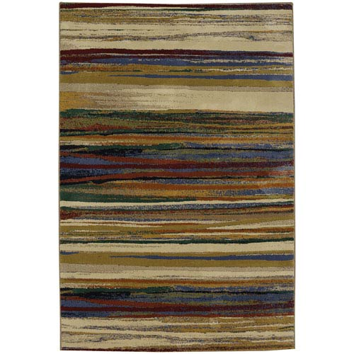 Savannah Warren Multicolor Rectangular: 5 Ft. 3-Inch x 7 Ft. 10-Inch Rug