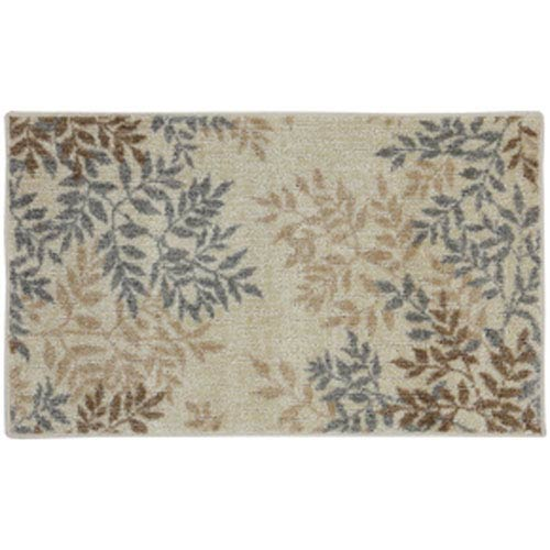Transitional Nature Tan Rectangular: 2 Ft. 6 In. x 3 Ft. 10 In.