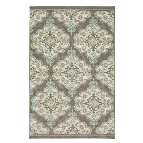 Summit Lane Transitional Ornamental Multicolor Rectangular: 5 Ft. x 7 Ft. Rug