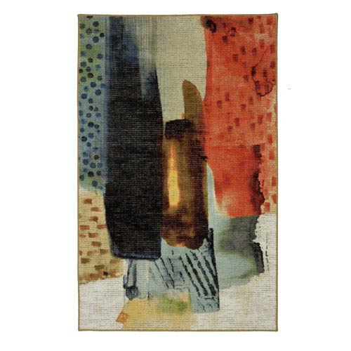 Summit Lane Contemporary Abstract Multicolor Rectangular: 5 Ft. x 8 Ft.