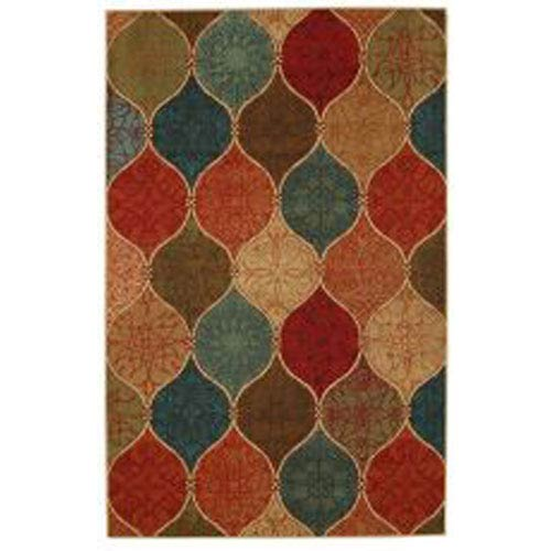 Summit Lane Transitional Multicolor Rectangular: 5 Ft. x 7 Ft. Rug