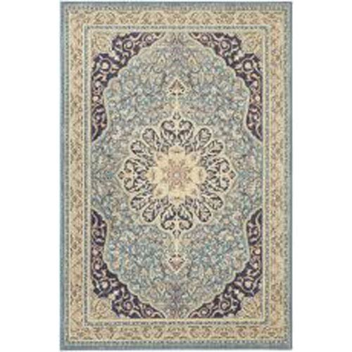 Summit Lane Traditional Blue Rectangular: 5 Ft. 3 In. x 7 Ft. 10 In. Rug