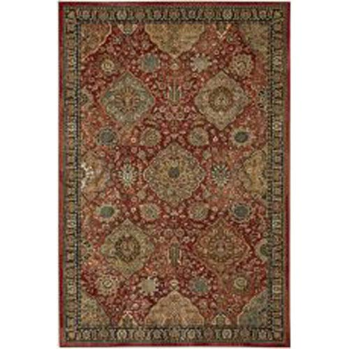 Traditional Gold Rectangular: 5 Ft. 3 In. x 7 Ft. 10 In. Rug