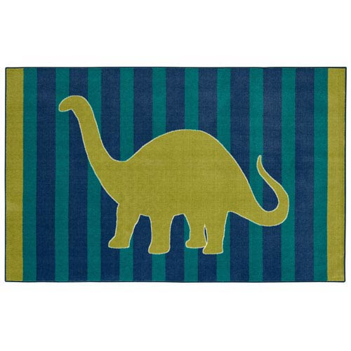 Casual Lime Rectangular: 5 Ft. x 8 Ft Rug