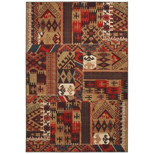 Summit Lane Transitional Multicolor Runner: 2 Ft. 1 In. x 7 Ft. 10 In. Rug