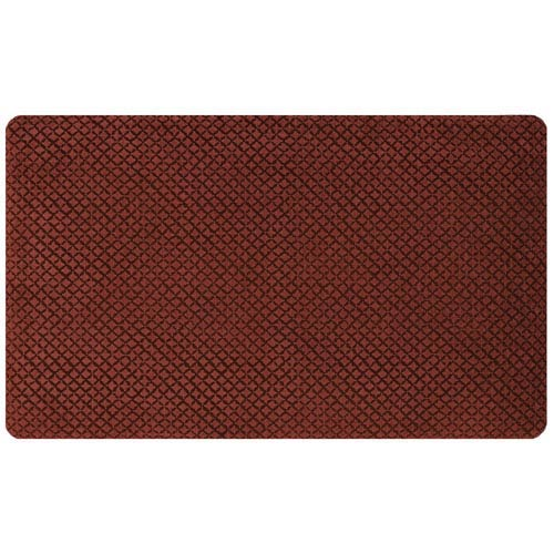 Casual Red Rectangular: 1 Ft. 6 In. x 2 Ft. 6 In. Rug