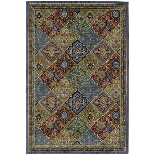 Summit Lane Transitional Multicolor Rectangular: 5 Ft. 3 In. x 7 Ft. 10 In. Rug