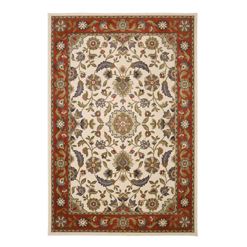 Summit Lane Traditional Multicolor Rectangular: 5 Ft. 3 In. x 7 Ft. 6 In. Rug