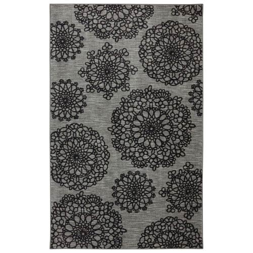 Contemporary Gray Rectangular: 7 Ft. 6 In. x 10 Ft. Rug