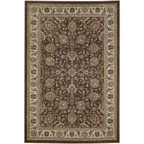 Summit Lane Traditional Brown Rectangular: 5 Ft. 3 In. x 7 Ft. 10 In. Rug
