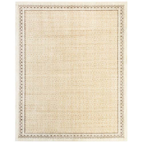 Transitional Gold Rectangular: 5 Ft. 3 In. x 7 Ft. 10 In. Rug