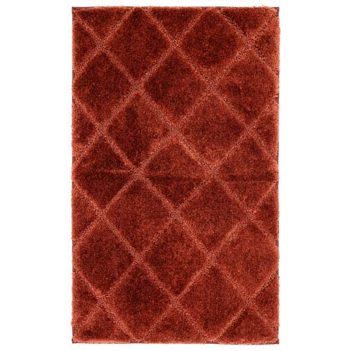 Summit Lane Casual Rust Rectangular: 1 Ft. 5 In. x 2 Ft. Rug