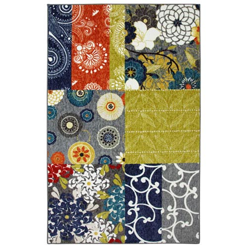 Summit Lane Contemporary Multicolor Rectangular: 5 Ft. x 8 Ft. Indoor Rug