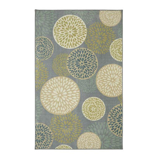 Contemporary Taupe Rectangular: 5 Ft. x 8 Ft. Indoor Rug