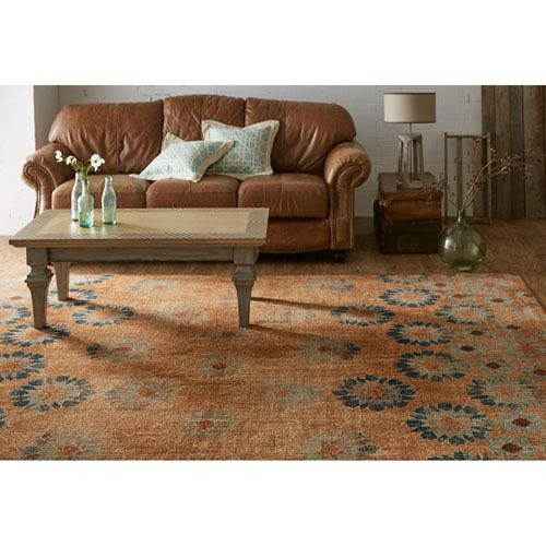 Contemporary Geometric Multicolor Rectangular: 5 Ft. 3 In. x 7 Ft. 10 In. Rug