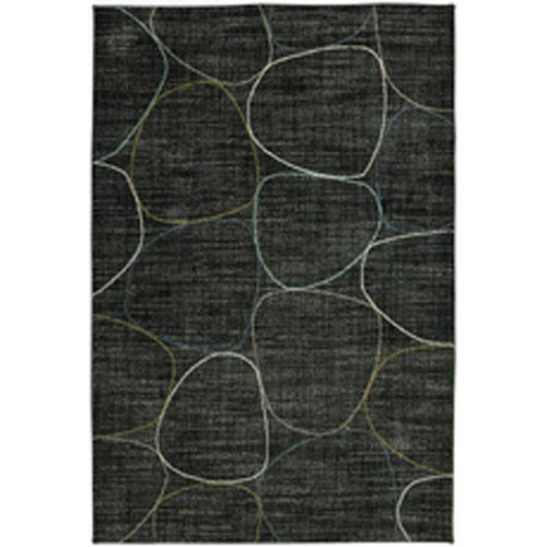 Contemporary Geometric Onyx Rectangular: 5 Ft. 3 In. x 7 Ft. 10 In.