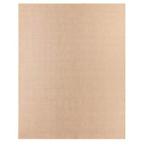 Casual Solid Coral Rectangular: 5 Ft. 3 In. x 7 Ft. 6 In. Rug