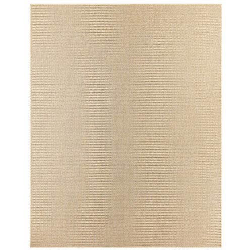 Casual Solid Natural Rectangular: 5 Ft. 3 In. x 7 Ft. 6 In. Rug