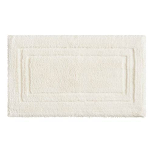 Summit Lane Casual Solid Parchment Rectangular: 1 Ft. 8 In. x 2 Ft. 10 In.  Bath Mat