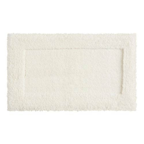 Casual Solid Parchment Rectangular: 1 Ft. 8 In. x 2 Ft. 10 In.  Bath Mat