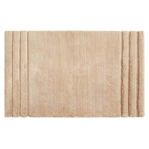 Summit Lane Casual Solid Barley Rectangular: 1 Ft. 8 In. x 2 Ft. 10 In.  Bath Mat