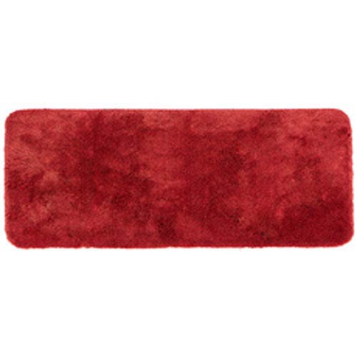 Casual Solid Wine Rectangular: 2 Ft. x 5 Ft. Bath Mat