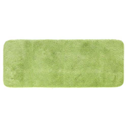 Casual Solid Pear Rectangular: 2 Ft. x 5 Ft. Bath Mat