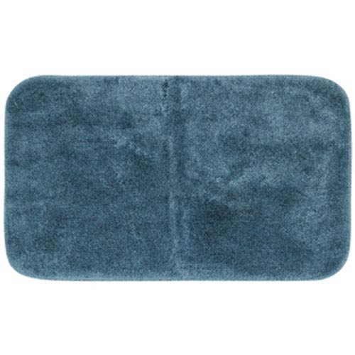 Casual Solid Sea Rectangular: 2 Ft. x 5 Ft. Bath Mat