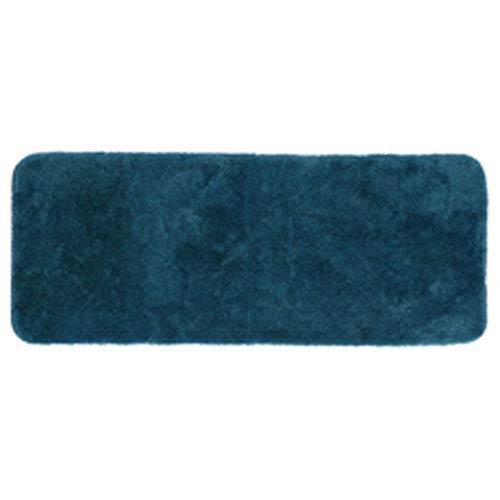 Casual Solid Teal Rectangular: 2 Ft. x 5 Ft. Bath Mat