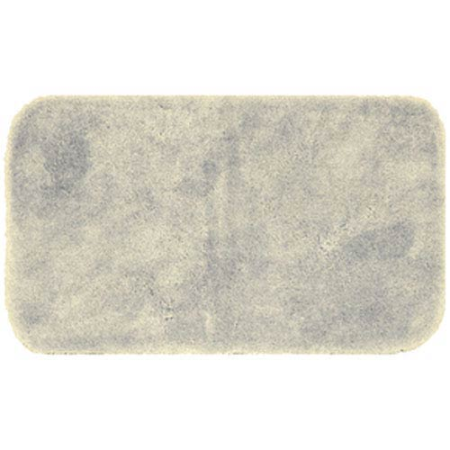 Casual Solid Vanilla Rectangular: 2 Ft. x 5 Ft. Bath Mat