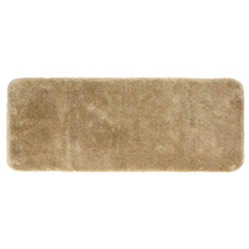 Casual Solid Oat Rectangular: 2 Ft. x 5 Ft. Bath Mat
