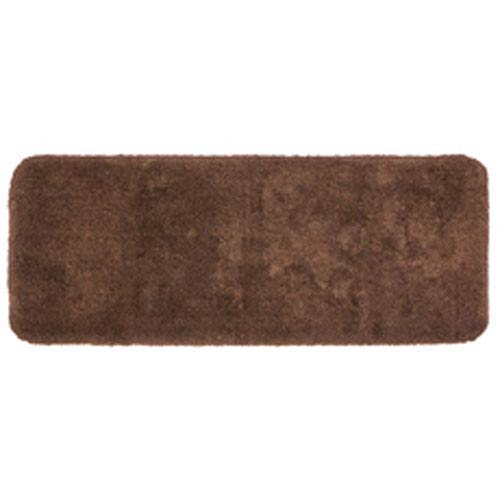 Casual Solid Java Rectangular: 2 Ft. x 5 Ft. Bath Mat