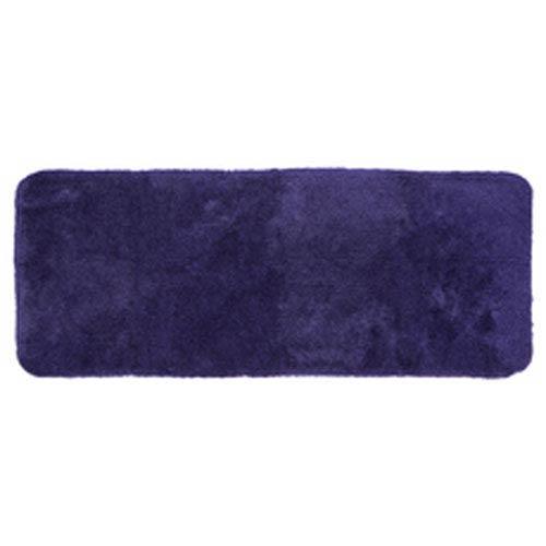 Casual Solid Grape Rectangular: 2 Ft. x 5 Ft. Bath Mat