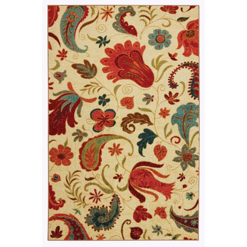 Tropical Acres Rectangular: 2 Ft. 6-Inch x 3 Ft. 10-Inch Rug