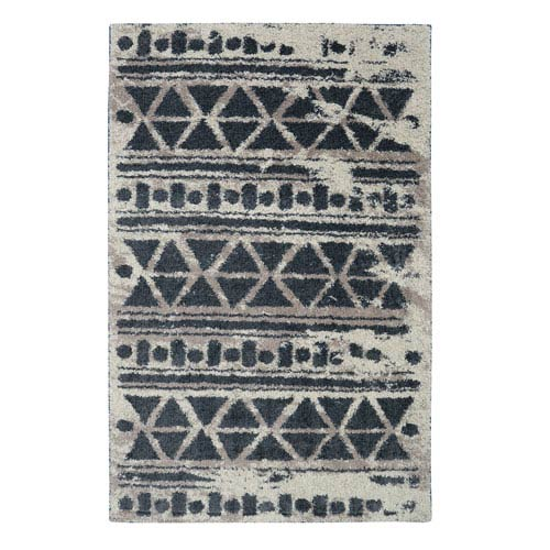 Urban Grid Cocoa Rectangular: 5 Ft. x 8 Ft. Rug