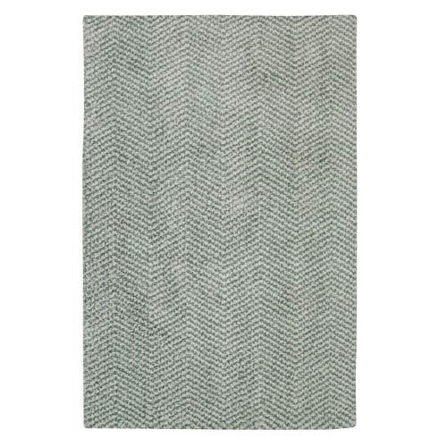 Mohawk Home Clinton Aqua Rectangular: 5 Ft. x 8 Ft. Rug
